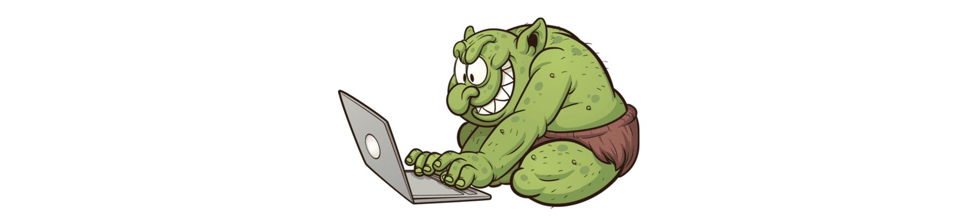 internet troll leaving bad patient reviews