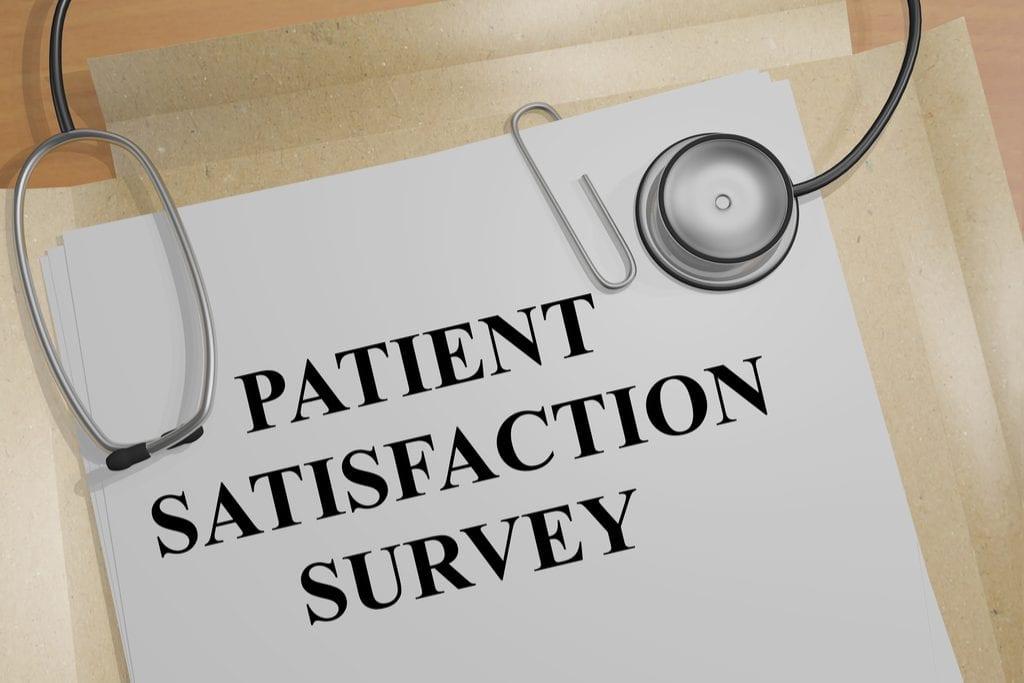 Image of patient satisfaction survey